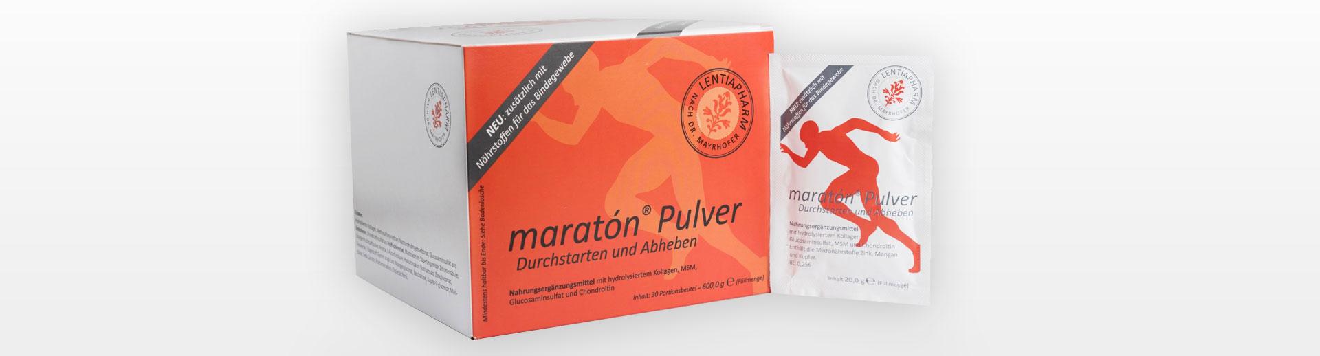 maratón® – Nährstoffe für Gelenke